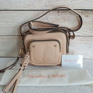 New See by Chloe Patti Leather Camera Bag